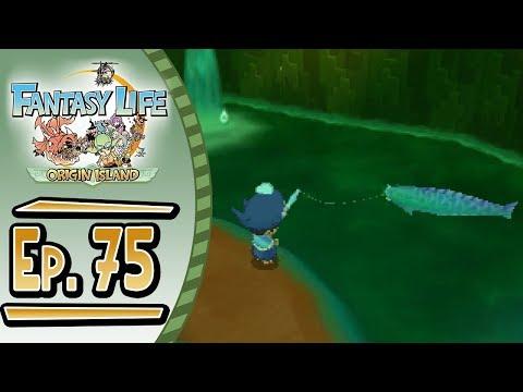 Fantasy Life - Origin Island :: # 75 :: Subterranean Fishing!