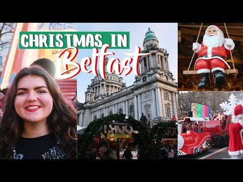 CHRISTMAS IN BELFAST! Continental Market & Santa Arriving🎅🏻