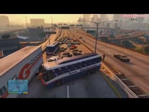 Gta 5 Funny Moments 3 Big Explosions Crashes Deaths Traffic Jam