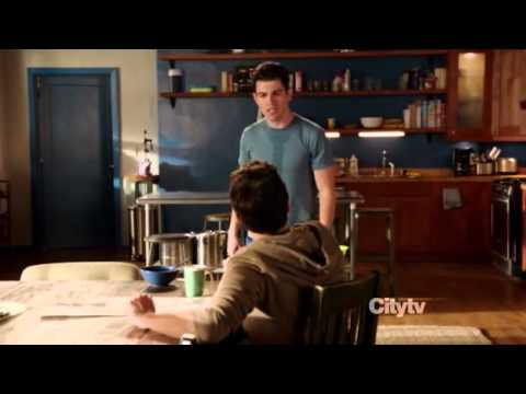 New Girl - Schmidt vs. Nick (Man, did you use my conditioner?!)