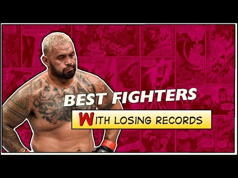 Greatest MMA Fighters with Losing Records