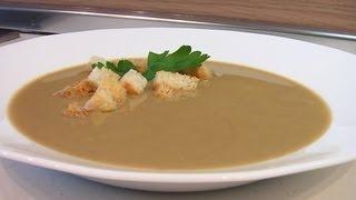 Суп-пюре из печенки видео рецепт. Книга о вкусной и здоровой пище