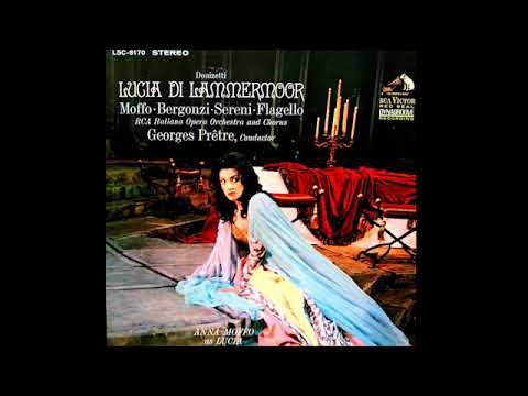 Lucia di Lammermoor; Moffo, Bergonzi, Sereni, Flagello & Prêtre; 1965