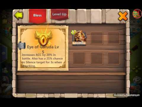 Castle Clash: Level 5 Eye Of Garuda ( Lost Battlefield ) + [Gameplay]