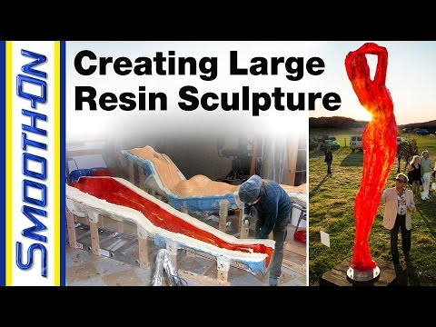 Moldmaking Process - Creating a Large Resin Sculpture, presented by Figuration Studios