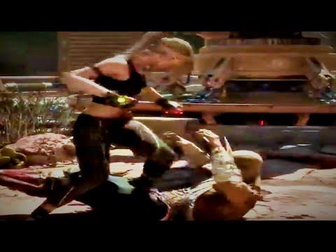 Mortal Kombat  – New Sonya Intros