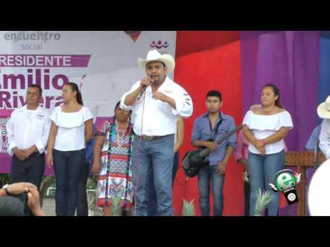 Cierre de Campaña Emilio Rivera del Valle PES 30 05 17