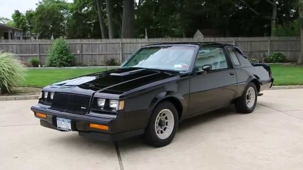 1987 buick t turbo for sale one owner we4 package original tires awesome youtube. Black Bedroom Furniture Sets. Home Design Ideas