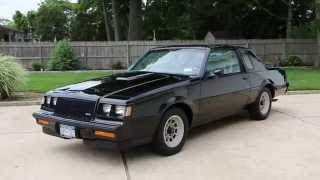 1987 Buick T Turbo For Sale~ONE Owner~WE4 Package~Original Tires~AWESOME!!