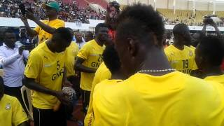 Black Stars sing ahead of Guinea clash