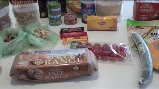 Australian Grocery Haul - What I Eat For Weight Loss