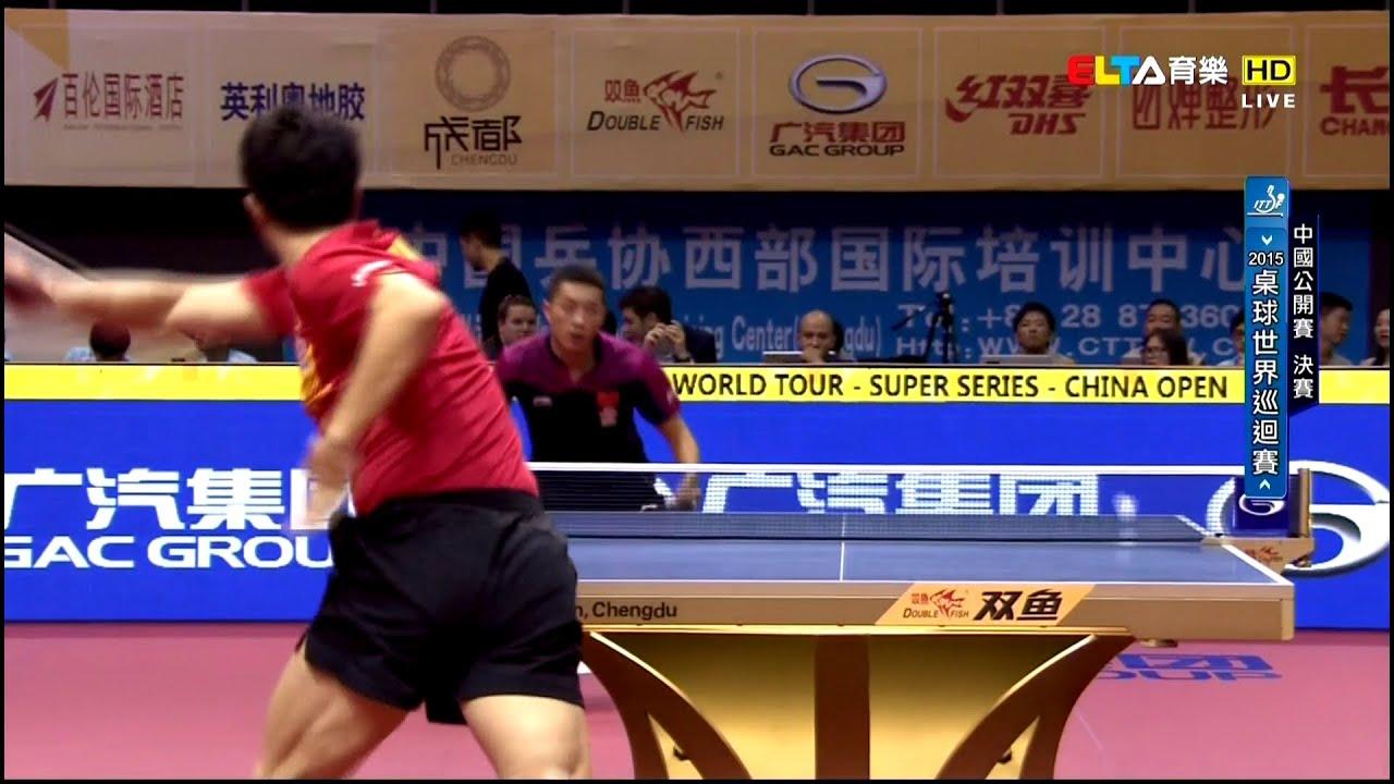 2015 China Open Ms Final Ma Long Xu Xin Hd1080p Full Match