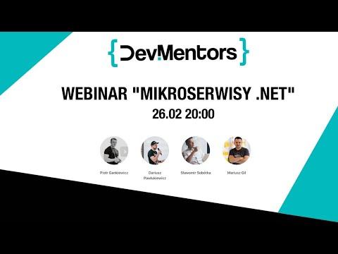 Mikroserwisy .NET [webinar]