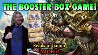 mtg lets play the rivals of ixalan booster box game opening magic the gathering cards