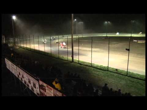 RacinBoys Wing Sprint Car Feature at L A Raceway 4-13-13