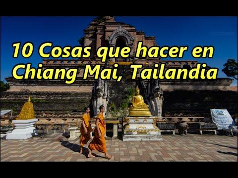 10 Cosas que hacer en Chiang Mai, Tailandia