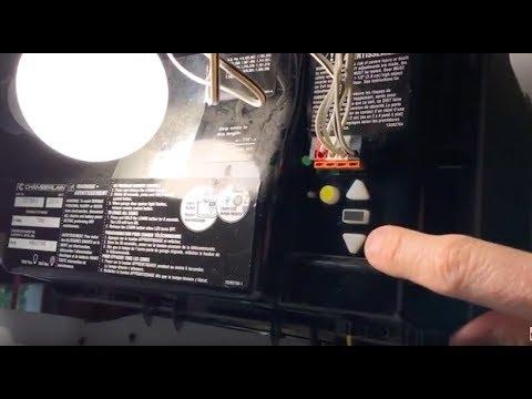 Garage Door Opens Then Closes Easy Fix How To Program Travel