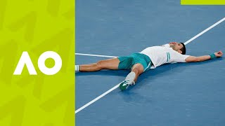 Novak Djokovic's 18 best AO21 shots for 18 Grand Slams | Australian Open 2021