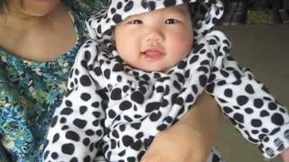 Baby's Outfit Of The Day - Dalmatian Hoodie