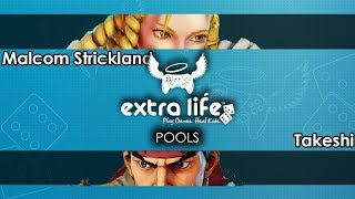 Street Fighter V: Malcom Strickland (Karin) V Takeshi (Ryu) - GVS X EL  Tournament SFV
