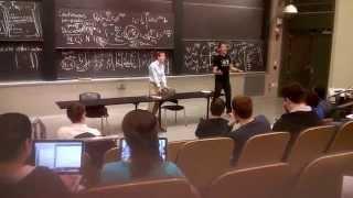 aaron gets pied by professor gilbert strang in 18 06