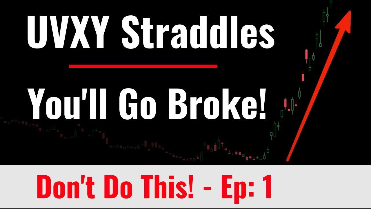 Video #124)  Don't Do This!  -  Series Ep #1  -  Short UVXY Straddles