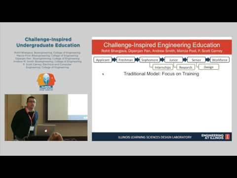 Challenge-Inspired Undergraduate Education