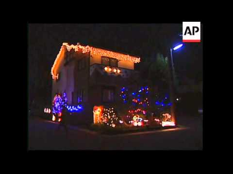 christmas decorations light up homes in japan - Light Up Christmas Decorations