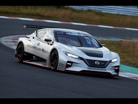 New Nissan Leaf Nismo RC - 322 hp electric race vehicle