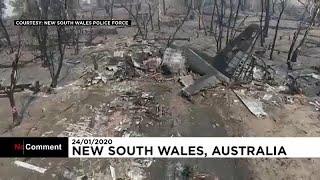 Recuperan los cadáveres de los tripulantes del avión cisterna siniestrado en Australia