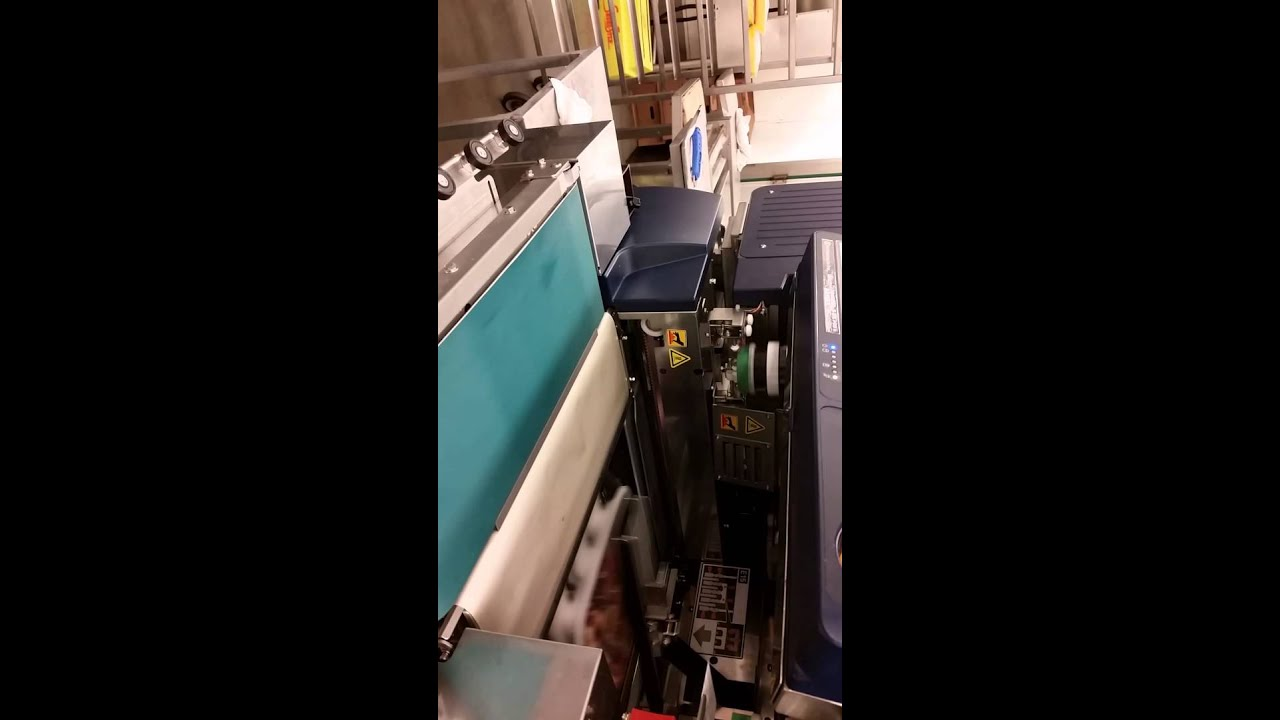 New digi aw5600 automatic meat wrapper