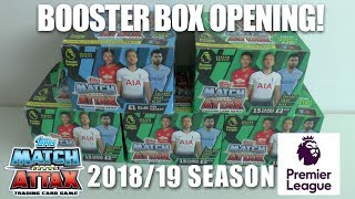 ⚽ ENTIRE DELUXE BOX OPENING !! | Match Attax 2018-19 Trading Cards ⚽ Topps