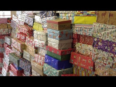 Operation Christmas Child Send Shoe Boxes Of Gifts Abroad