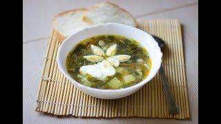 Куриный суп с щавелем