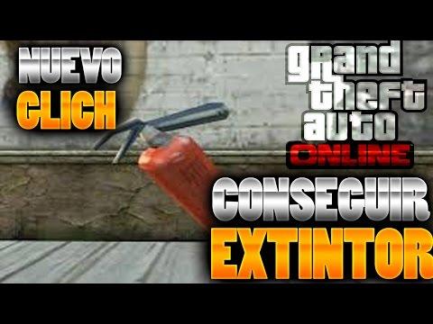 GTA 5 ONLINE 1.25/1.27 TRUCO CONSEGUIR EXTINTOR GTA V ONLINE 1.25/1.27