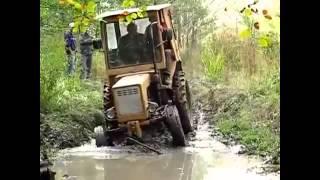 Приколы просто улет)))движ на тракторах