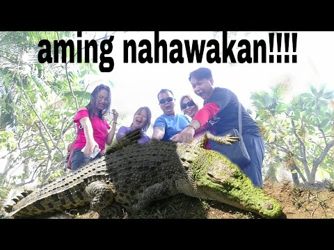 Travel Vlog Adventure @ Davao Crocodile Park Part 1
