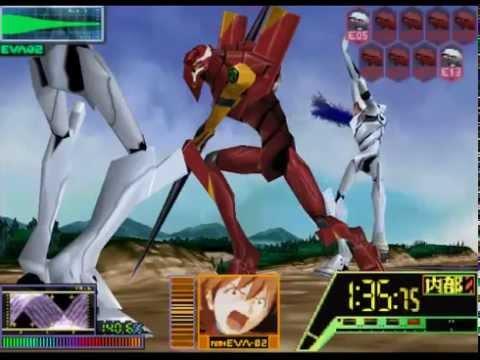Neon Genesis Evangelion N64 [Mision 12.5] EVA 02 vs EVA Series