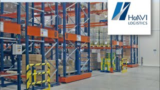 Mobile racks to multiply the storage space at Havi Logistics