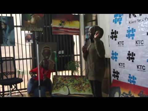 Spoken Word Poetry at Kibera Town Centre