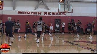 Kemba Walker, Jayson Tatum, Donovan Mitchell, Kyle Kuzma USA Basketball Day 1 2019 Scrimmage HoopJab