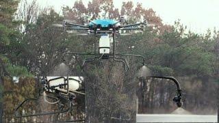 위험한 농약 살포작업 로봇이 척척 / YTN 사이언스