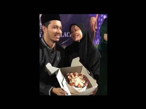(Sweet)Fazura Terharu Dan Gembira Fatah Amin Hadiahkan Kek Untuknya