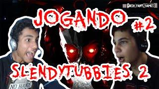 [Terror Indie Game] Jogando Slendytubbies 2 #2 - O Retorno dos Teletubbies Amaldiçoados! (Ft. MR)