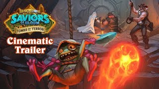 Tombs of Terror Cinematic Trailer | Hearthstone