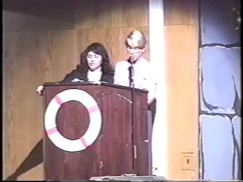 Glen Cove High School Senior Fashion Show 1999