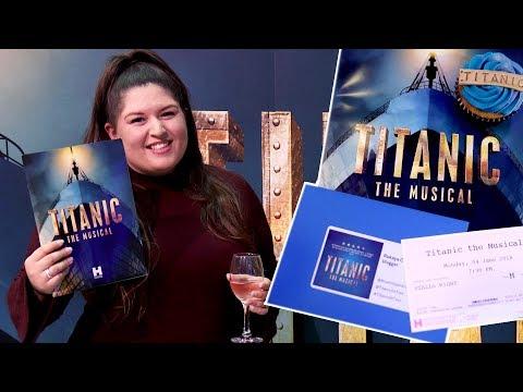 Titanic The Musical (UK Tour - Birmingham) ⚓️ REVIEW (Rukaya Cesar)