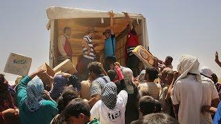 نظام الأسد يوافق على إرسال مساعدات إلى 11 منطقة محاصرة
