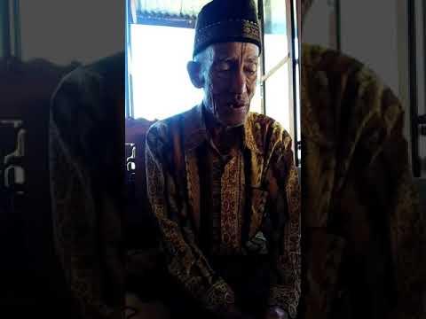 Guritan seni budaya besemah pagar alam (sum-sel)  oleh bapak Yanuari part 3
