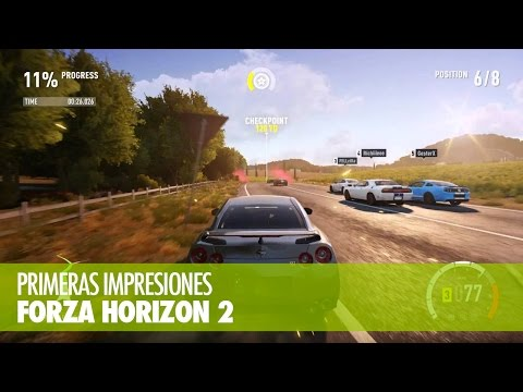 PRIMERAS IMPRESIONES - Forza Horizon 2 (XBO)